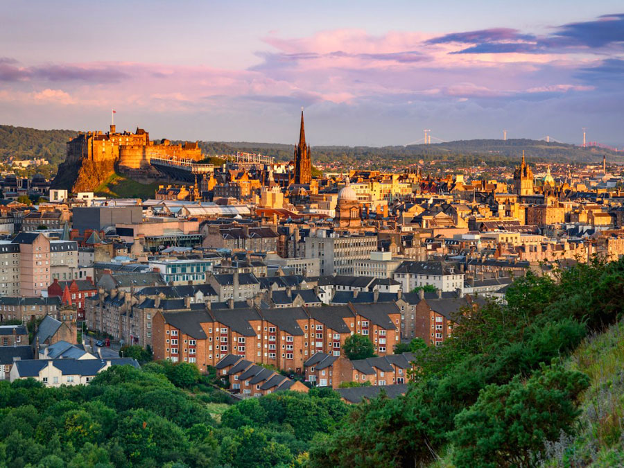 Edinburgh, the third-largest financial centre in the United Kingdom after the City of London and Glasgow