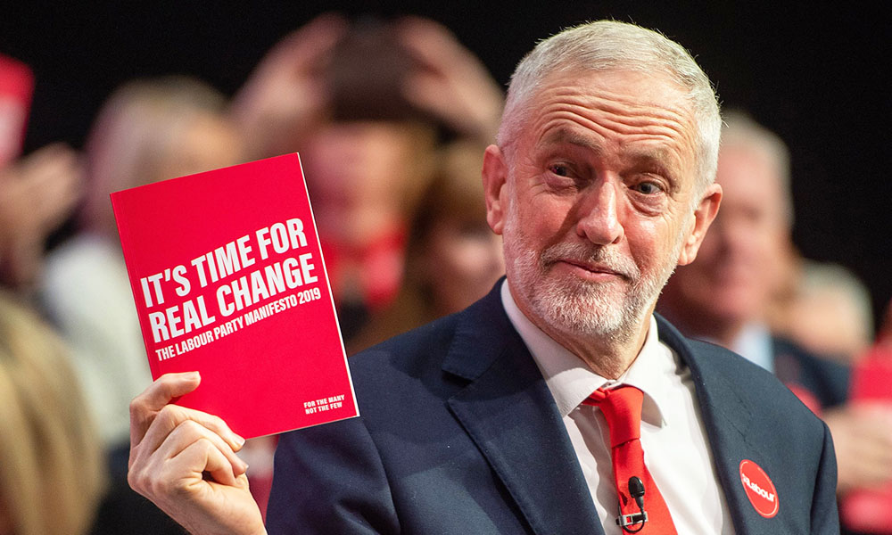 Jeremy Corbyn Has Launched Labour's Manifesto