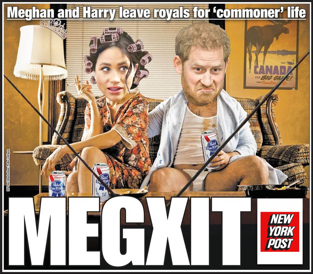 Harry and Meghan Won't Play the Game