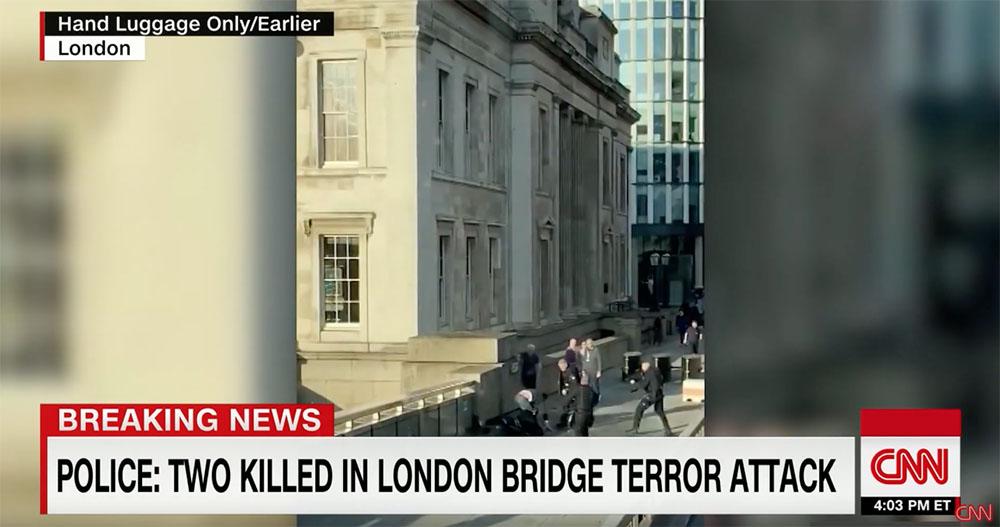 2 People Killed in a 'Terror Incident' Near London Bridge