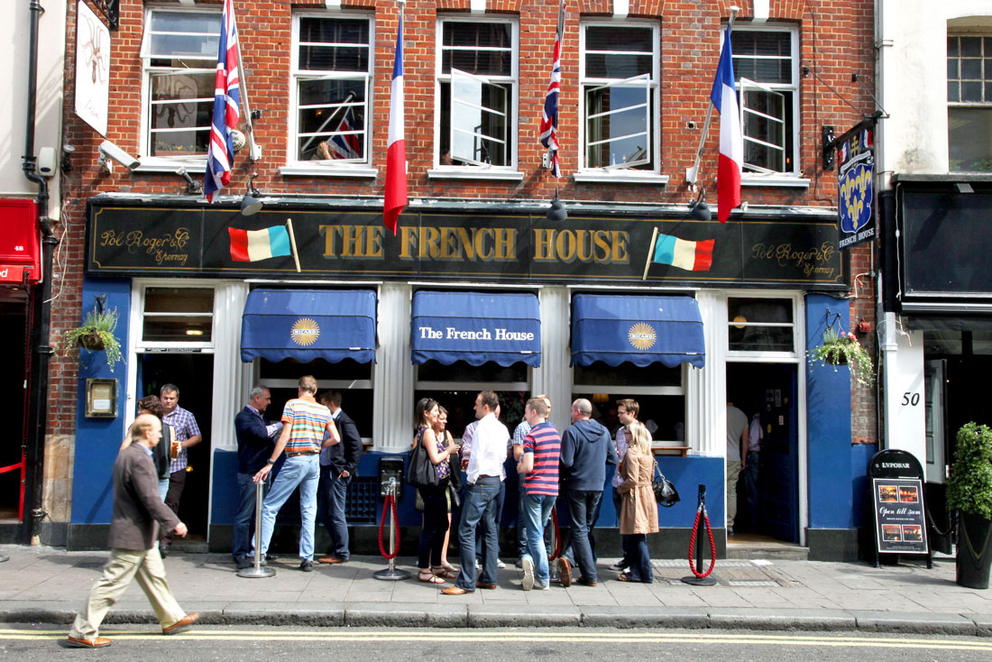 French House pub in Soho London
